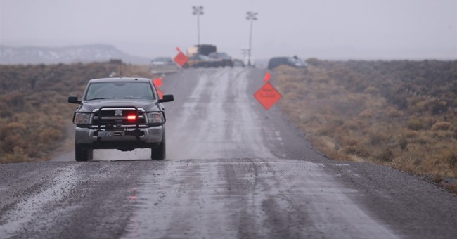 The Latest: Ammon Bundy repeats call for occupiers to leave