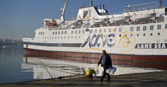 Greek ferries tied up for 3rd day over pension reform