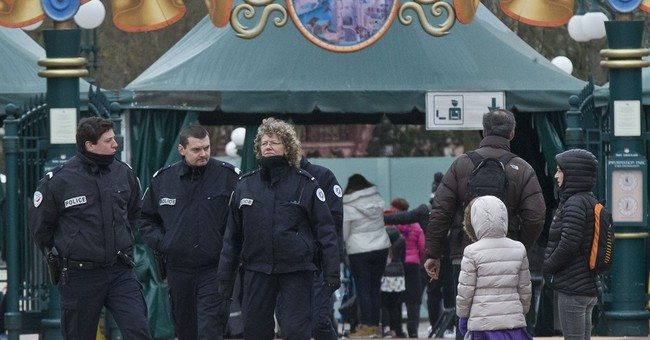 Terrorism ruled out in gun arrest at Disneyland Paris