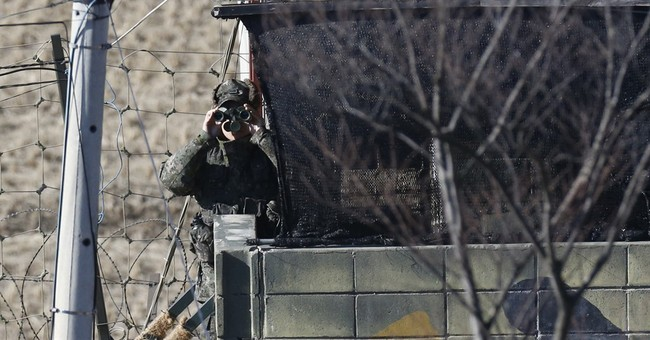 Correction: NKorea-Along the DMZ, 1st Ld