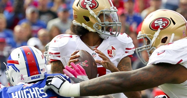 Kaepernick tunes out fans in loss to Buffalo