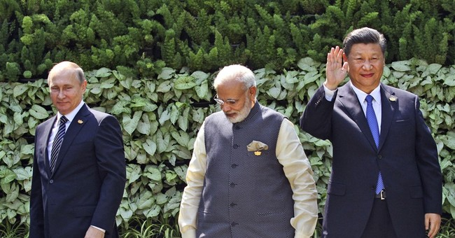 The Latest: BRICS leaders praise New Development Bank