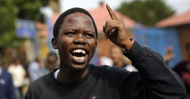South African police arrest student protest leader