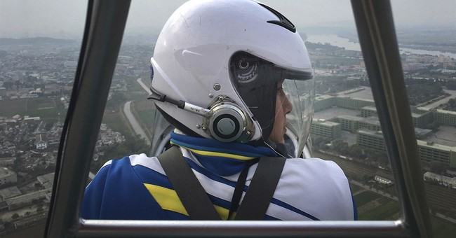 Pyongyang's latest fad: Sightseeing in ultralight airplanes