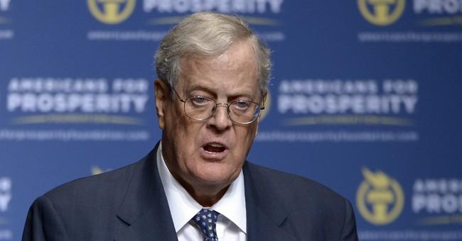 Koch brothers' network focusing on GOP Senate, not Trump