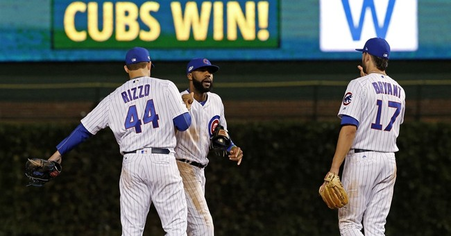 Montero's PH slam lifts Cubs over Dodgers 8-4 in NLCS opener
