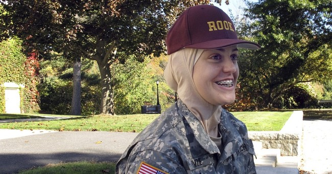 Muslim woman settles in at Vermont military college