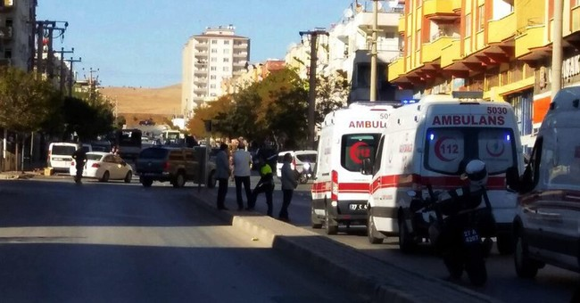 Suicide blast in Turkey near Syrian border kill 3, wound 9