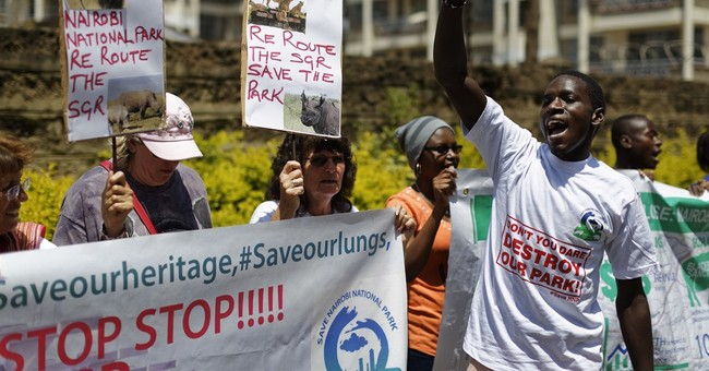 Kenya: China petitioned to stop building railway in park