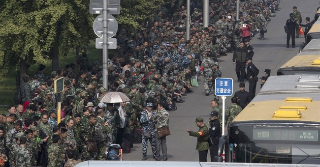 China veterans' protests for pensions pose test for leaders