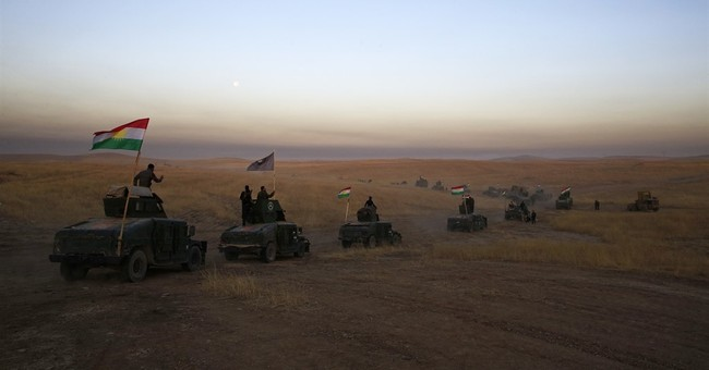 Iraqis push toward IS-held Mosul in long-awaited offensive