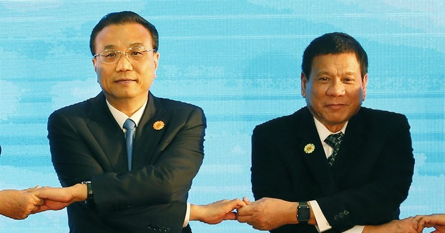 Philippine president's China trip puts US ties to the test