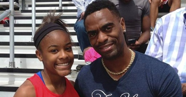 Tyson Gay, thousands in vigil for sprinter's slain daughter