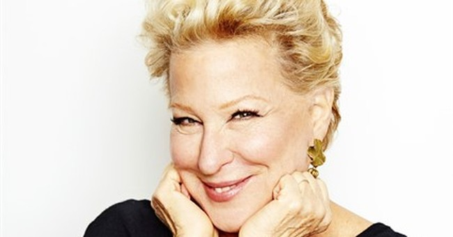 Bette Midler revisits 'old friends' _ her star-making songs