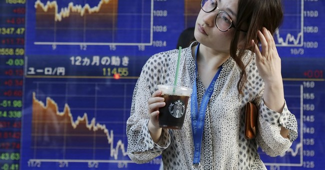 Global stocks advance as Chinese growth data loom