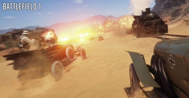 The Great War? 'Battlefield' plots to make WWI entertaining