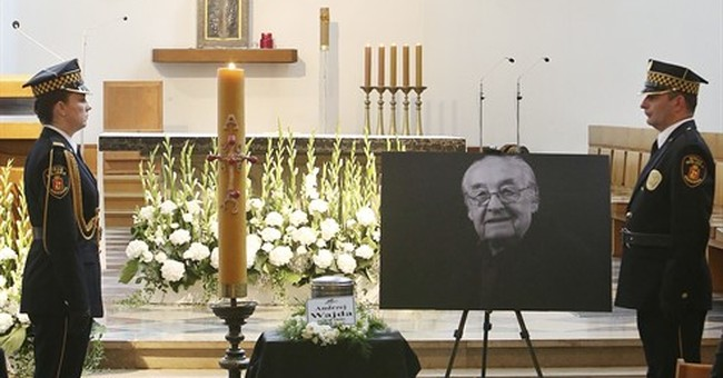 Hundreds in Warsaw bid farewell to filmmaker Andrzej Wajda