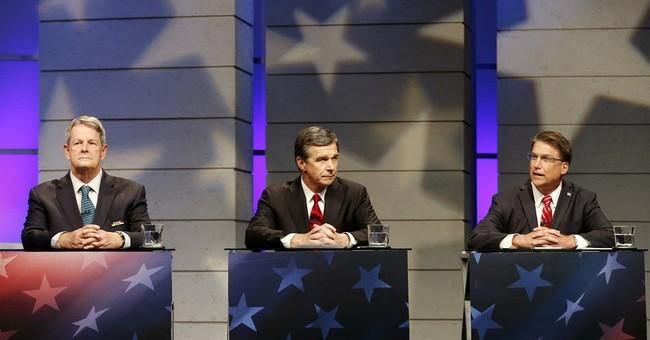 North Carolina governor's candidates clash in live TV debate