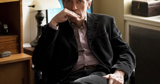 Hugh Laurie is back as a TV doctor in Hulu's dark 'Chance'