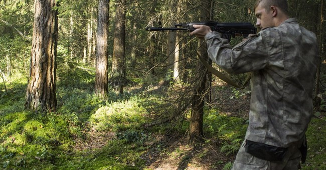Ultra-nationalist 'war camps' train Russian youths