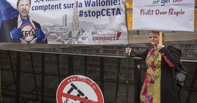 Tiny Belgian region holds up EU-Canada trade deal