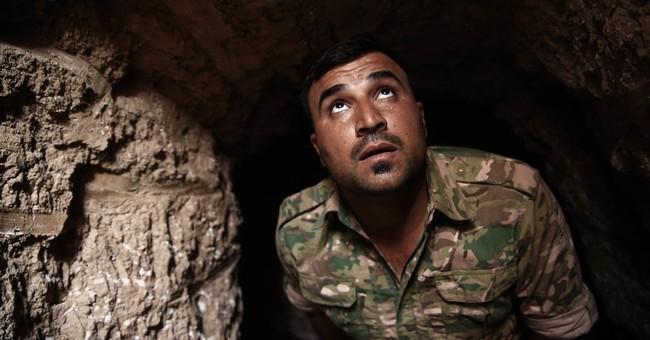 Retaken villages show IS increasingly driven underground