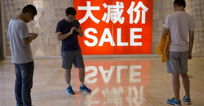 China economic growth holds steady as retail spending rises