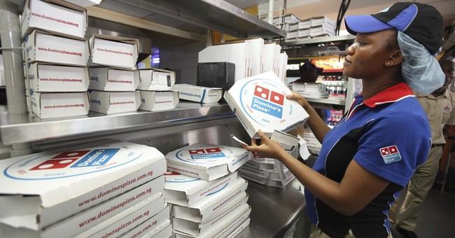 Domino's Pizza sales soar despite fast-food slowdown