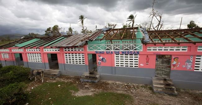 Hurricane's destruction puts schools on hold in Haiti