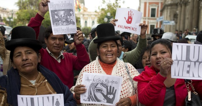Argentines mourn crime, protest violence against women