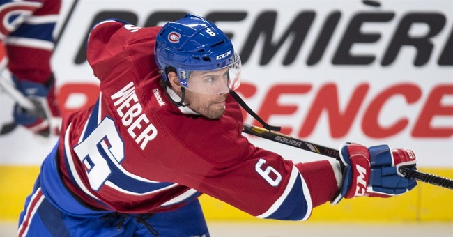 Shea Weber quickly making his presence felt in Montreal
