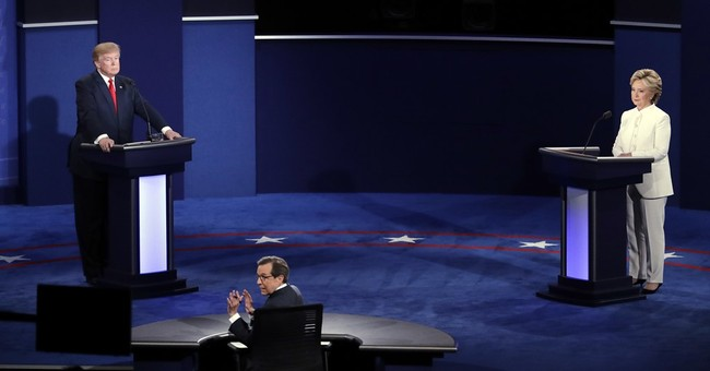That time Trump refused to say he'll accept election result