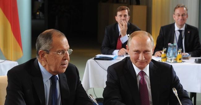 The Latest: Putin could halt Aleppo strikes indefinitely