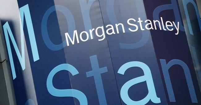 Morgan Stanley's earnings jump, helped by trading