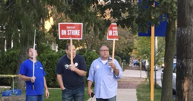 Professors on strike at 14 Pennsylvania state universities