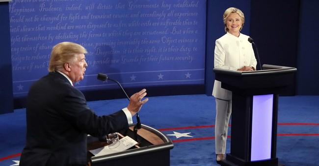 AP FACT CHECK: Trump, Clinton and their debate claims