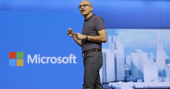 Microsoft 1Q profit tops views, lifting stock to new high
