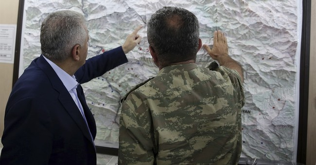 Turkey ramps up fight against Kurdish fighters in Syria