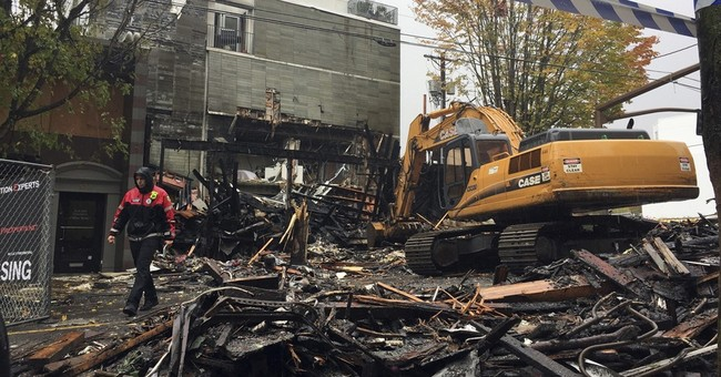 Firefighter thrown up to 20 feet in Portland gas explosion