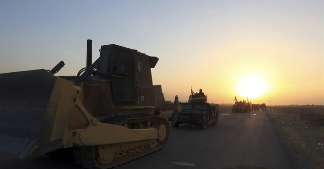 Mosul Today: Iraqi special forces push into IS-held town