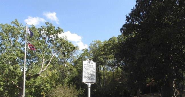 Lynching memorial rises near revered Confederate sites