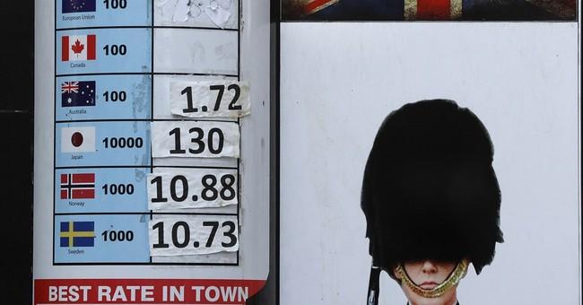 UK pound's post-Brexit plunge echoes past crises