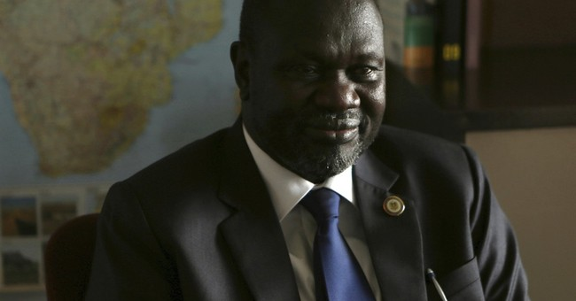 South Sudan rebel leader says he could return next month