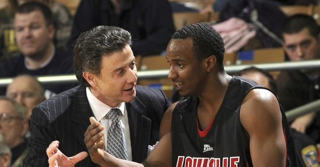 NCAA accuses Louisville, Pitino of violations in escort case