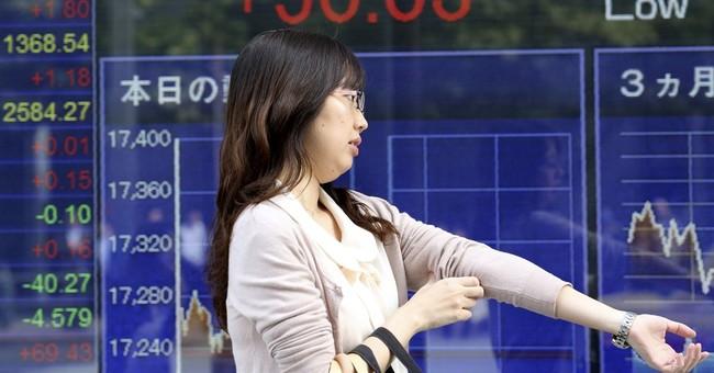 Asian shares mixed, dollar rises on ECB stimulus hopes
