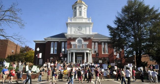 The Latest: No talks underway with striking professors