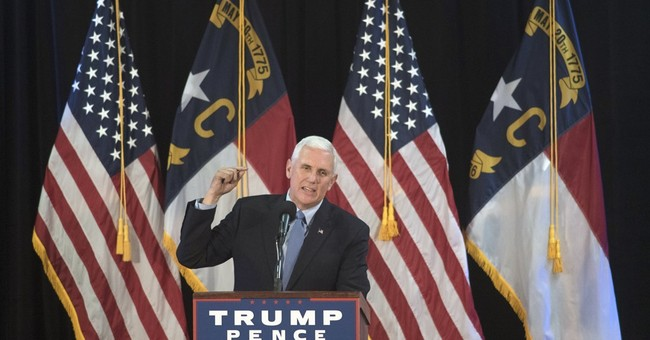 Pence again finds himself as Donald Trump's clean-up man