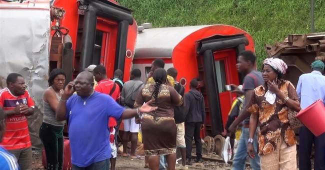 Cameroon train crash kills more than 70, injures 600