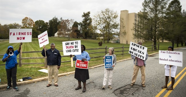 The Latest: Pennsylvania chancellor applauds faculty pact