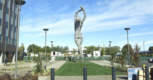 A giant nude statue in California is stirring controversy